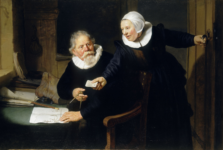 Rembrandt The Shipbuilder and his Wife (1633) as featured in our Rembrandt monograph