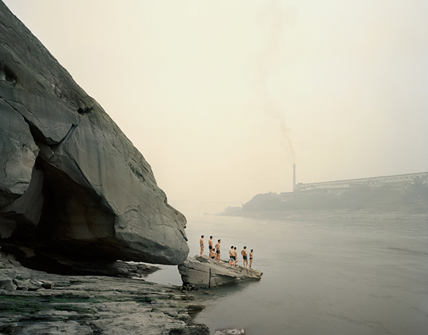 Yibin I, Bathers 2007 Sichuan Province, China - Nadav Kander. From Shooting Space