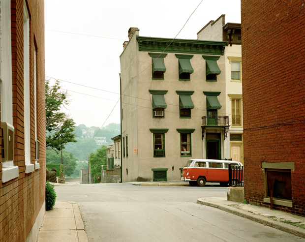 Stephen Shore, Church Street and Second Street (June 20, 1974), Easton, Pennsylvania, USA