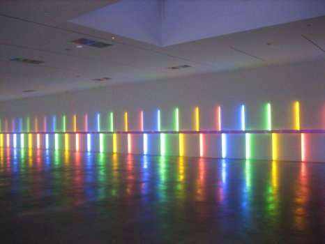 untitled (1996) by Dan Flavin