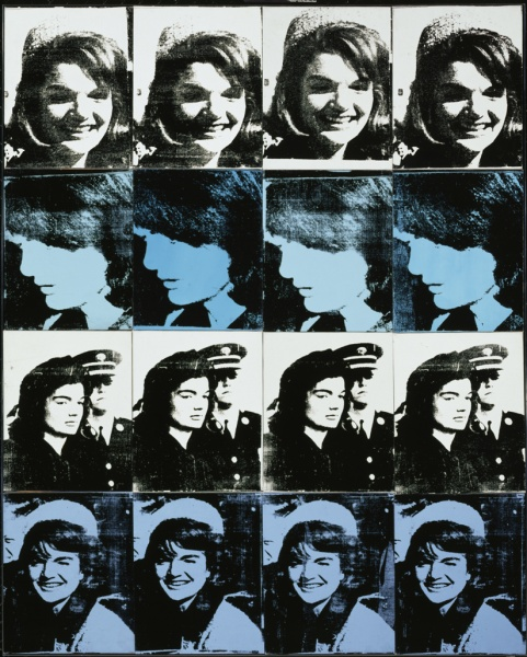 16 Jackies (1964) by Andy Warhol