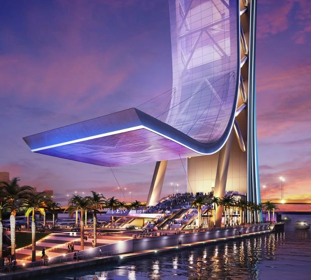 Miami's new observation tower could come with rides