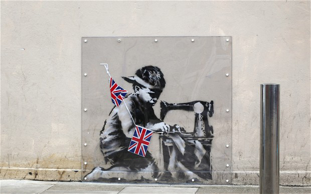 Withdrawn Miami Banksy up for auction again