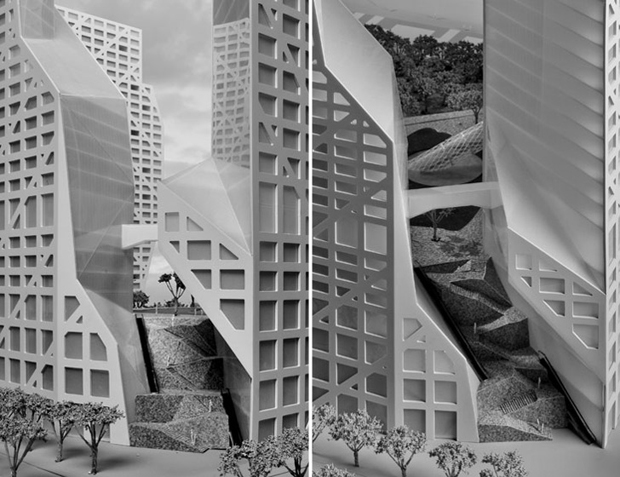 Sliced Porosity Block - Steven Holl
