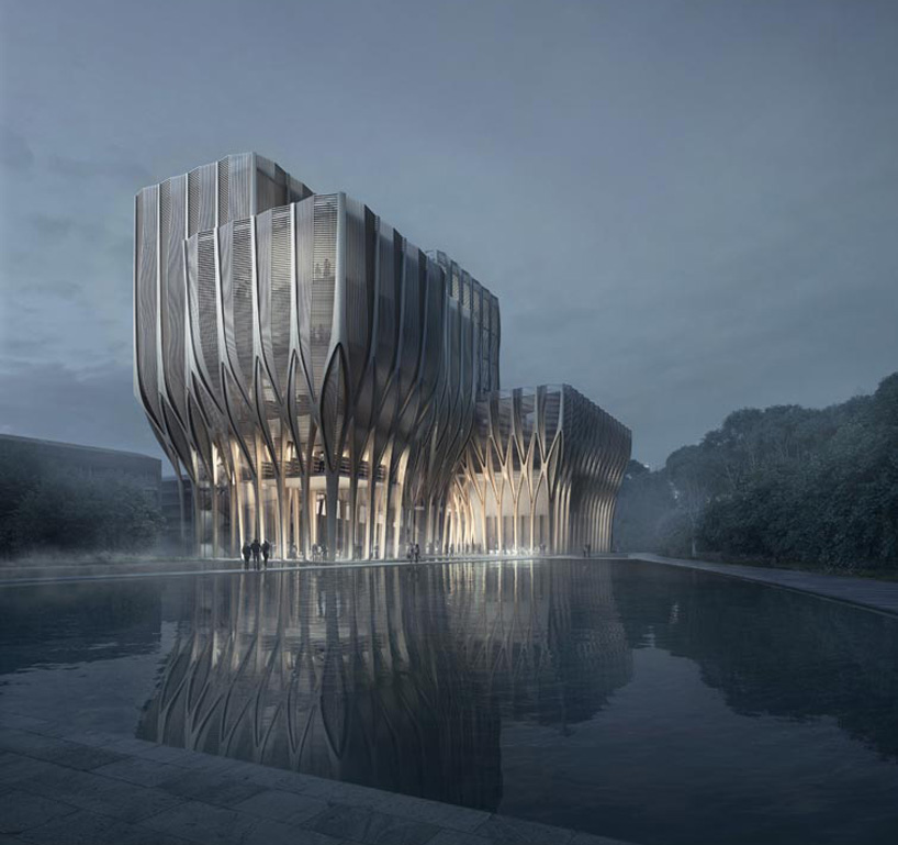 The Sleuk Rith Institute by Zaha Hadid Architects