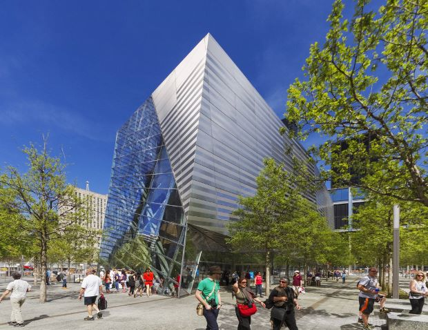 The National 9/11 Memorial Museum Pavilion by Snøhetta