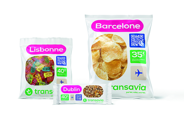 The Snackholidays range from Transavia
