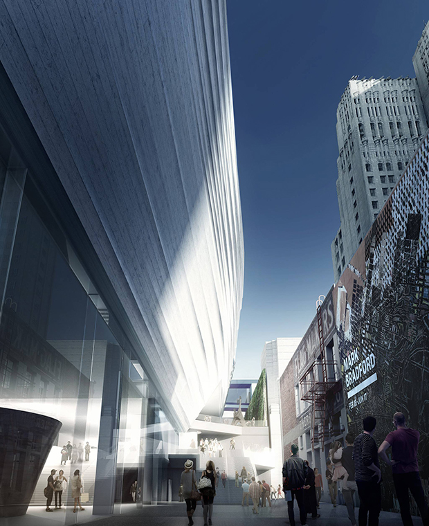 Snøhetta's renderings for the new, expanded SFMOMA