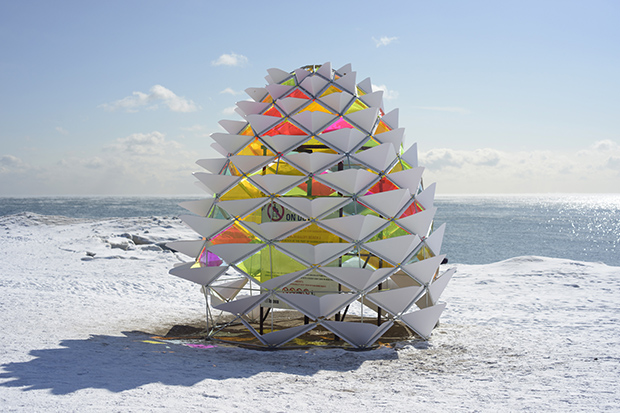 Snowcone, Toronto, Canada. From Nanotecture