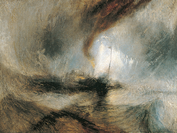 Snow Storm - Steam-Boat off a Harbour's Mouth (1842) by JMW Turner