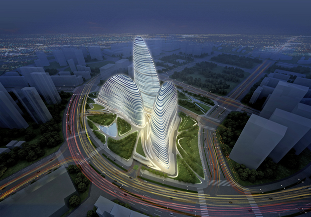 Zaha Hadid design becomes first 'faked' building