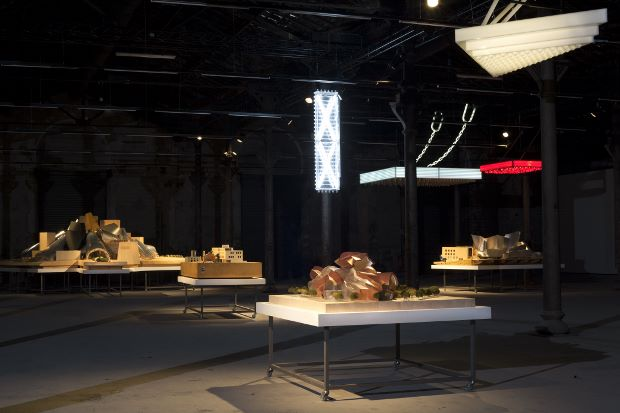 Frank Gehry's models at The Solaris Chronicles in Arles