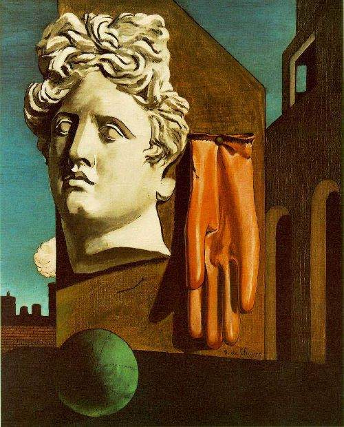 The Song of Love (1914) by Giorgio de Chirico