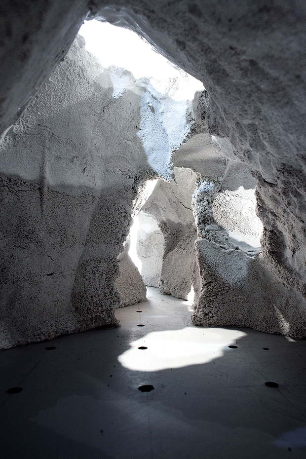 Rendering for Ilulissat Icefjord Park, Greenland, by Olafur Eliasson's Studio Other Spaces. Image courtesy of studiootherspaces.net