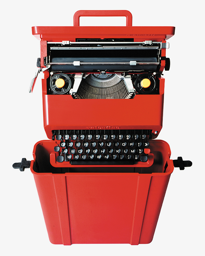 The Valentine Typewriter By Ettore Sotu0027s