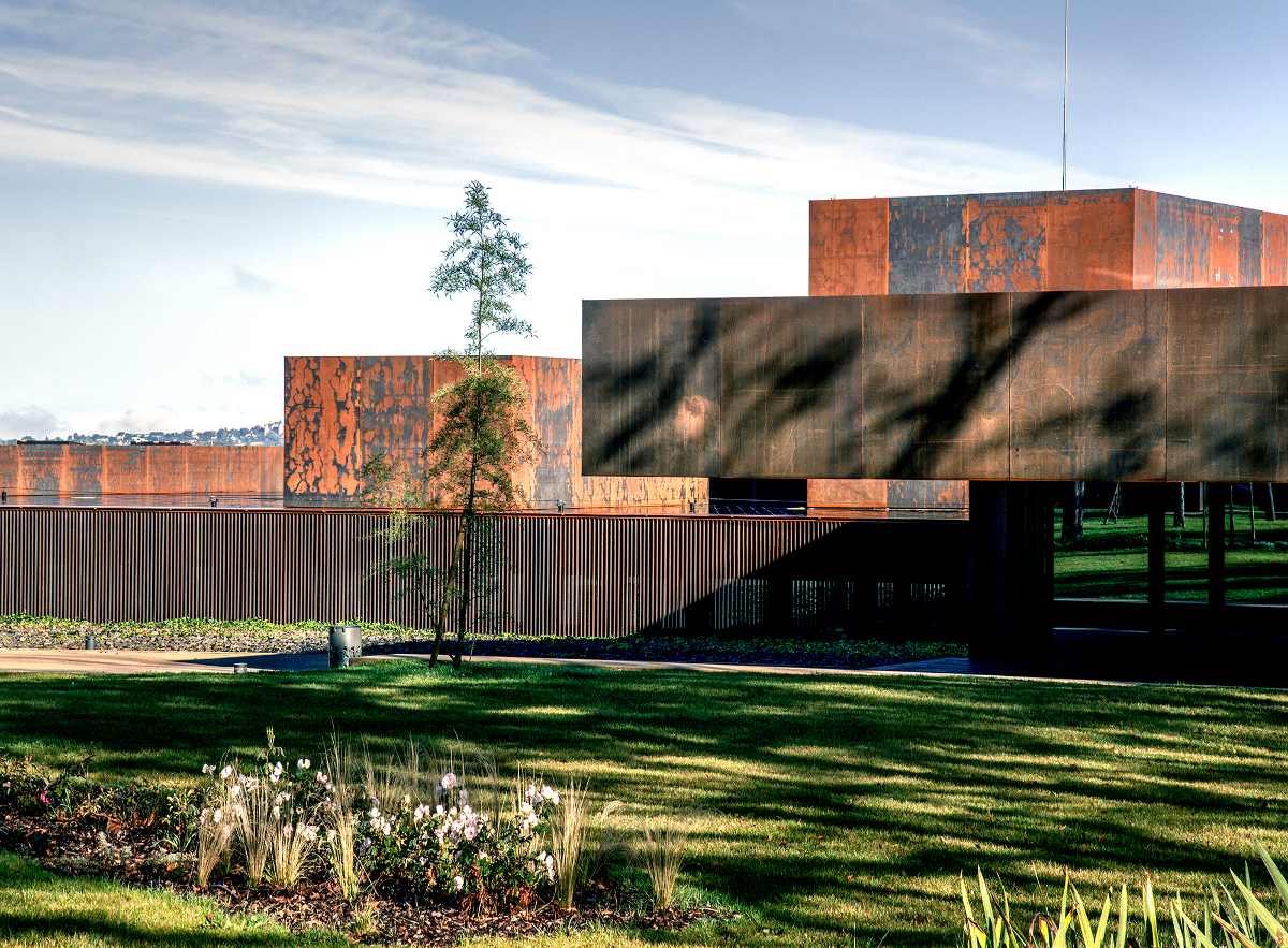 Soulages Museum, 2014, Rodez, France In collaboration with G. Trégouët.Photo by Hisao Suzuki