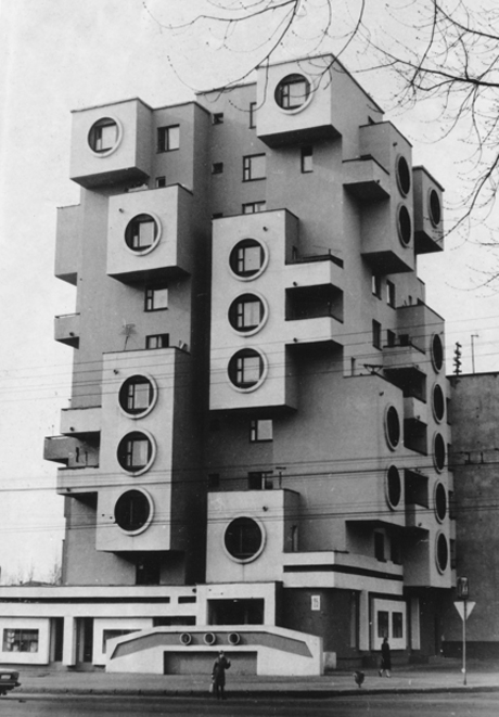 Residential building on Minskaya Street, Bobruisk, Belarus (1980s) © Belorussian State Archive of Scientific-Technical Documentation