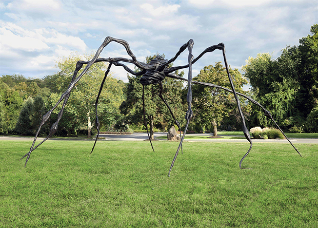 Spider (conceived 1996, cast 1997) by Louise Bourgeois. Image courtesy of Christie's