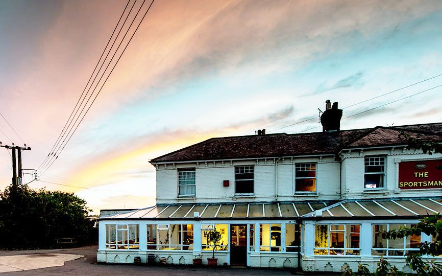 The Sportsman, Seasalter, Kent