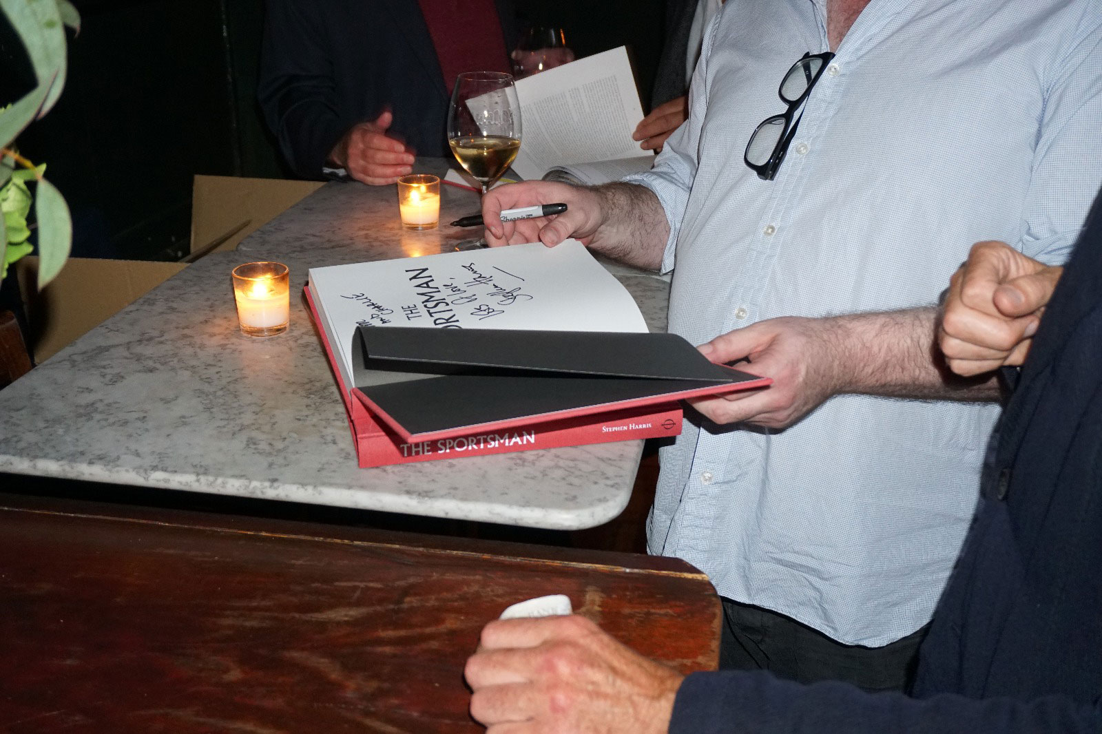The Sportsman launch at Noble Rot photo Bonnie Beadle