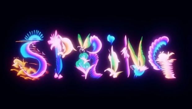 Spring Breakers title sequence by Gentleman Scholar