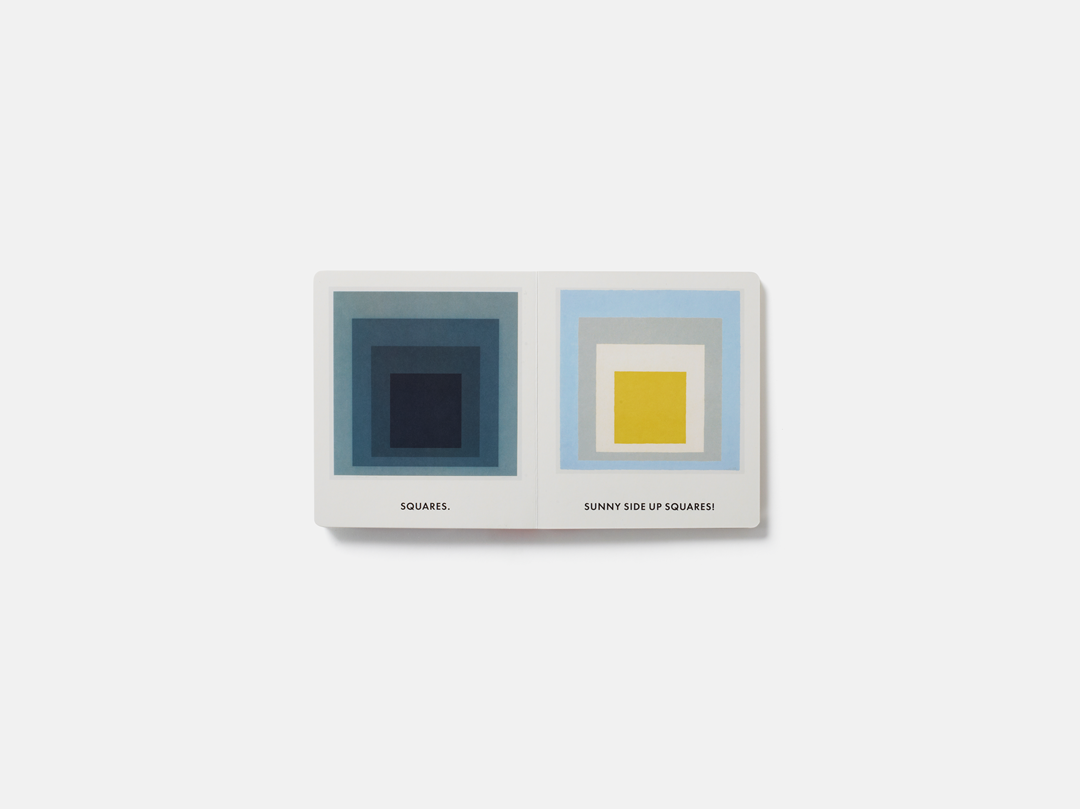 A spread from Squares and Other Shapes: With Josef Albers