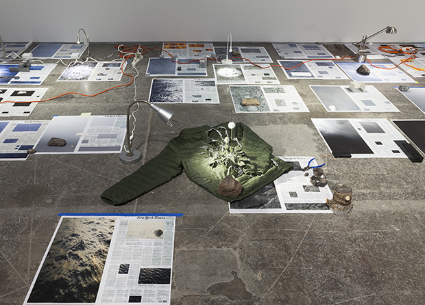 Sarah Sze, installation view, Calendar Series, 2013-2015; 30 January – 28 March 2015; Victoria Miro, 16 Wharf Road, London, N1 7RW