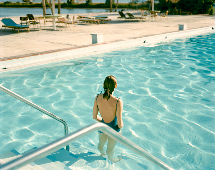 Stephen Shore, Ginger Shore, Causeway Inn, Tampa, Florida (1977)