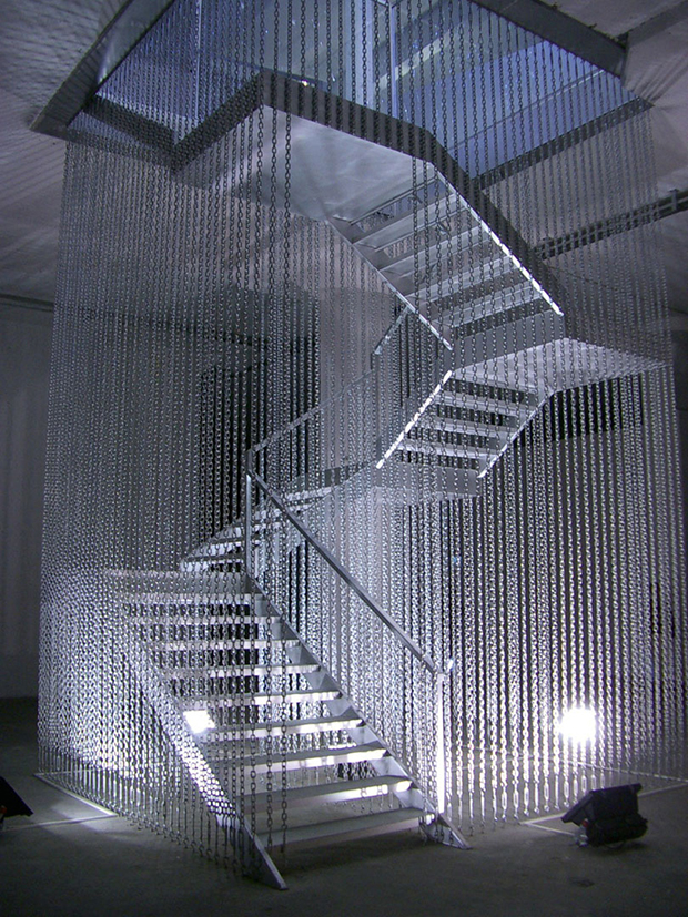 Stairway to Hell (2003) by Monica Bonvicini