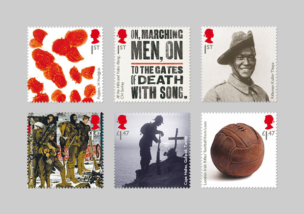 Hat-Trick's latest WW1 Royal Mail stamp range