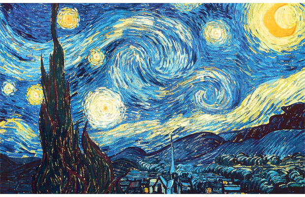 The Starry Night, Vincent van Gogh, 1889
