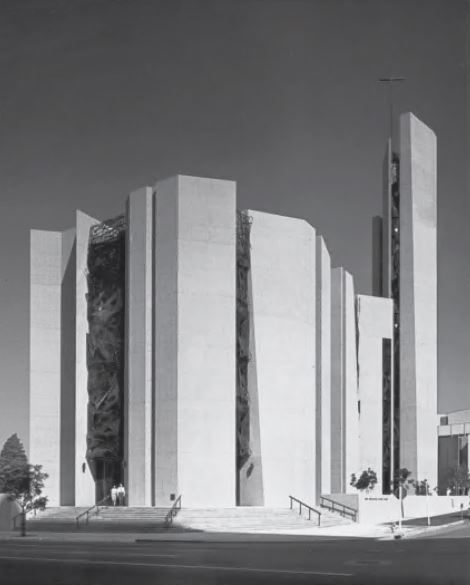 St Basil's Catholic Church, Los Angeles, USA, 1969, by AC Martin & Associates
