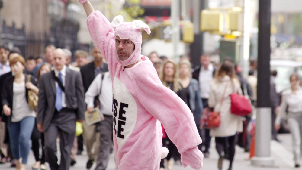 Stefan Sagmeister in The Happy Film