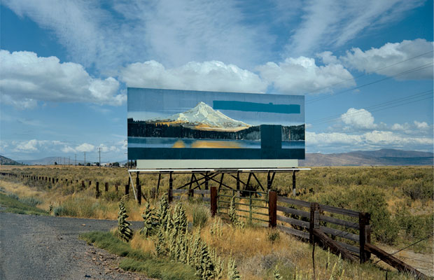 Stephen Shore, U.S. 97 (21 July, 1973), South of Klamath Falls, Oregon, USA. From Stephen Shore: A Road Trip Journal