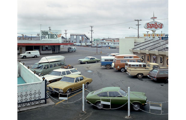 Fifth Street and Broadway, Eureka, California, September 2, 1974 (1974)