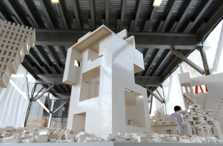 Steven Holl Architects' contribution to  the High Line's Collectivity Project, New York