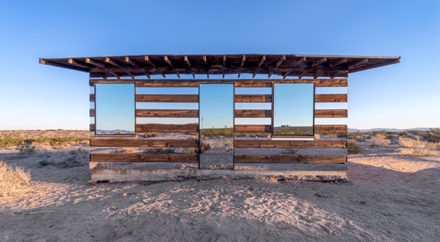 The Lucid Stead by Phillip K Smith III. Photograph by Steve King