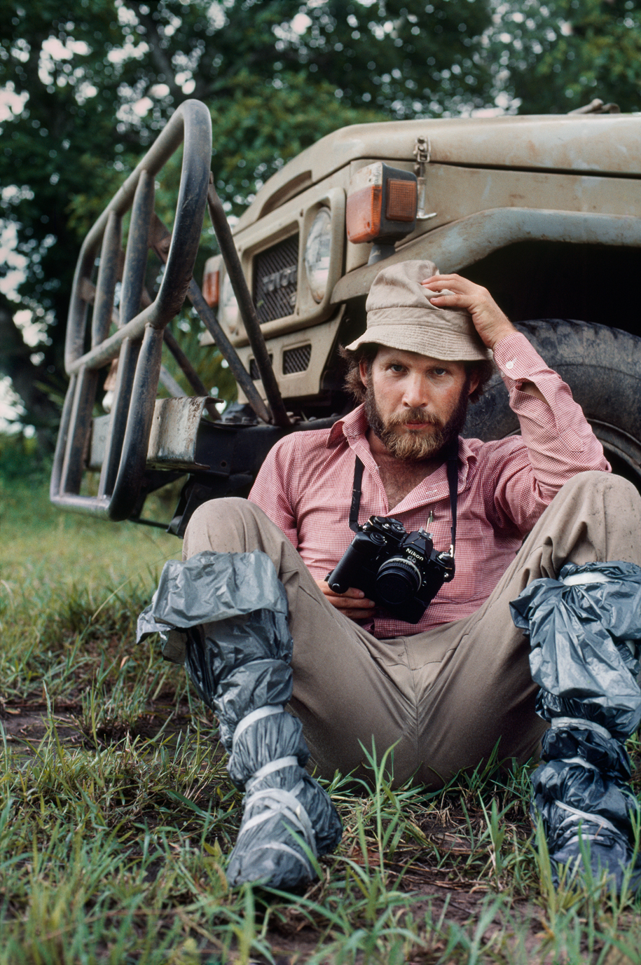 Steve McCurry in Australia, 1984