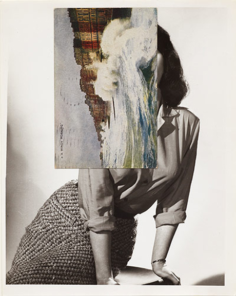 John Stezaker, Siren Song V, 2011 Photograph: Courtesy of the artist and The Approach, London