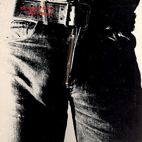The Rolling Stones' Sticky Fingers (1971) by Andy Warhol