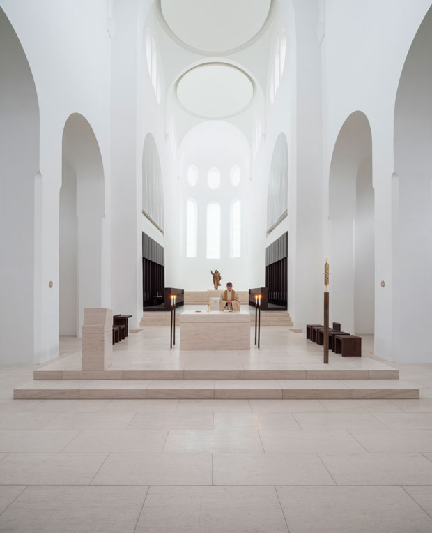 St Moritz Church, Augsburg, Germany. All images taken from John Pawson: Anatomy of Minimum