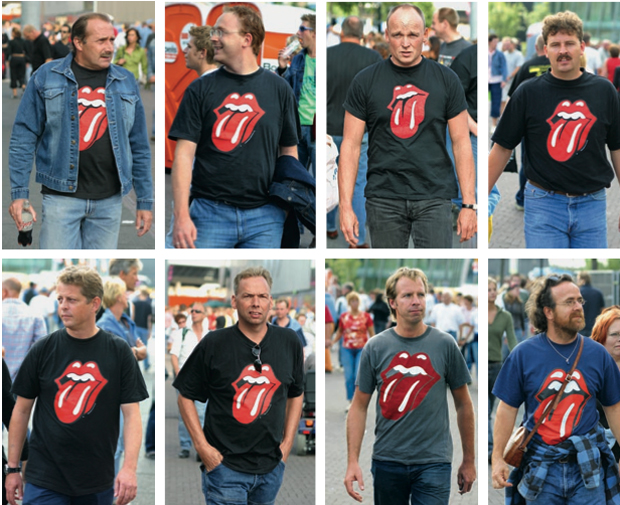 So why do people of the Twenty-First century still wear a Rolling Stones logo from the Twentieth?