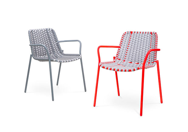 Strap Chairs, 2014 by Scholten & Baijings