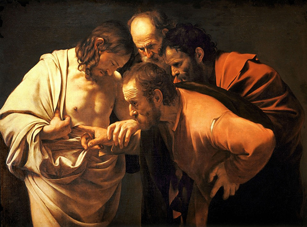 The Incredulity of Saint Thomas (1601-1602) by Caravaggio