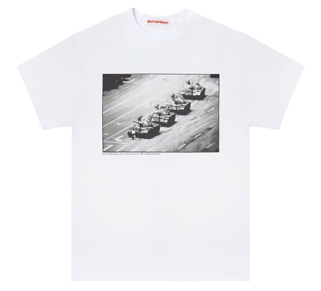 Would you wear Tank Man on a t-shirt?
