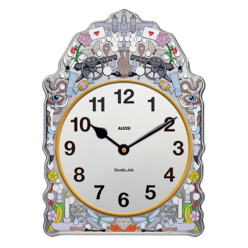Studio Job's Comtoise clock for Alessi
