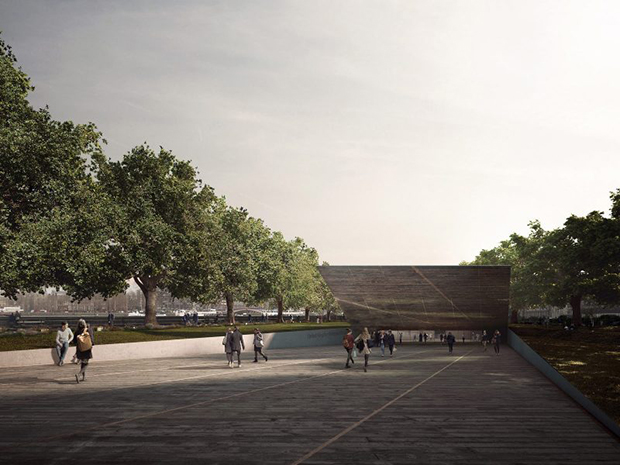 Studio Libeskind's submission for the UK Holocaust Memorial