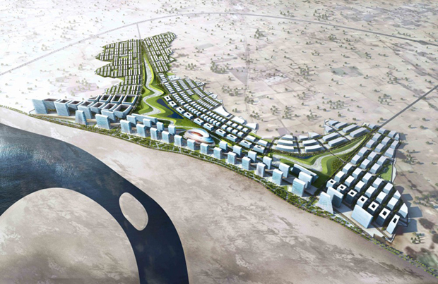 New city proposed on banks of the Ganges