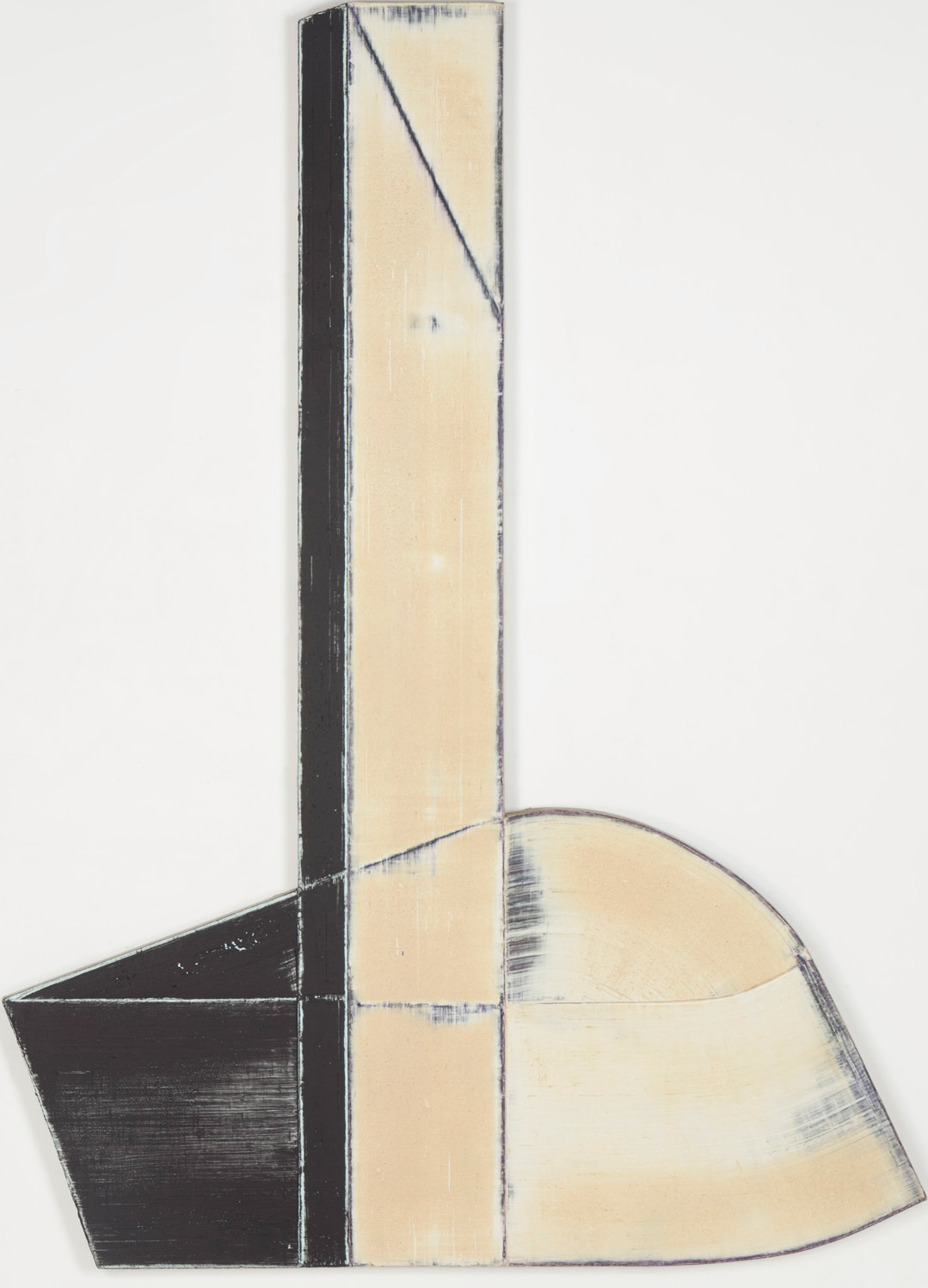 Study for My Life and Music (1979) by Harvey Quaytman