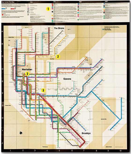 Nyc Subway Map By Massimo Vignelli.Massimo Vignelli 1931 2014 Design Agenda Phaidon